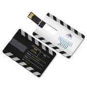Promotional Business Credit Card USB Flash Drives, Nice Memory from Shenzhen Sinway Technology Co. Ltd