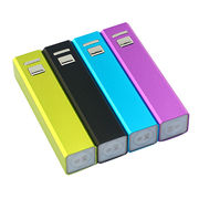 2014 real 2,000mAh sleek aluminum alloy case promotional power banks for digital products