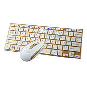 Wireless Desktop Keyboard and Mouse from China (mainland)