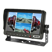 7-inch Rearview Quad TFT LCD Monitors