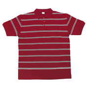 100% Cotton Yarn Dyed Stripe Polo Shirt from China (mainland)