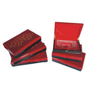 High Glossy Wooden Souvenir Medal Display Box from China (mainland)