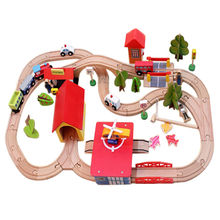 Wooden Christmas toy train from China (mainland)