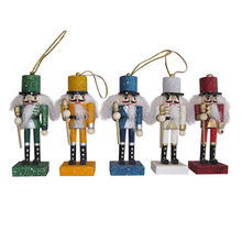 "Hot New Product for 2015 Wooden Nutcracker for Kids, Unit Measure High 4.25"", Model No. W02A006"
