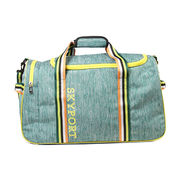 China Hot Sale Tri-color Athletic Sports Duffle/Travel Bag, Sized 49*25*28cm