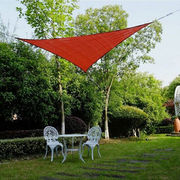 China Cool Area Oversized Patio Sun Shade Sail, 5X5M, HDPE, High-quality Stainless Steel Hardware Kit