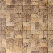 Coconut wood mosaic tiles building material from China (mainland)