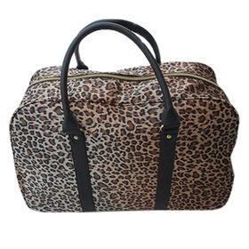 China Leopard Travel Bag