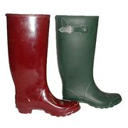 Rubber boots from China (mainland)