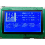 China 240x128 dots graphics industrial LCD module