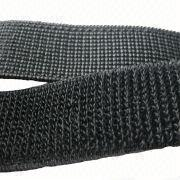China Elastic Hook-and-loop Tape, Widely Used for Garment, Medical Supplies, Sports Equipment