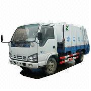 Hydraulic Pressed Garbage Truck from China (mainland)