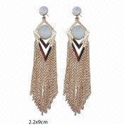 Wholesale Fancy Tassel Drop Earring, Fancy Tassel Drop Earring Wholesalers
