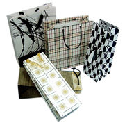 New Design Art Paper Bags Customized Various Sizes are Accepted from Everfaith International (Shanghai) Co. Ltd