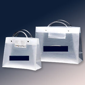 PVC Tube Handle Bags in Your Custom Design from Everfaith International (Shanghai) Co. Ltd