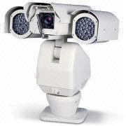 China High-speed PTZ Camera with IR Illuminator and Auto Wiper