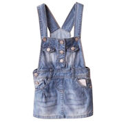 Girls' denim overall from China (mainland)