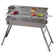 Stainless steel charcoal BBQ grill from China (mainland)