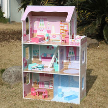 New cute wooden doll house toys from China (mainland)