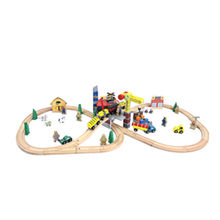 Wooden train toy set Manufacturer