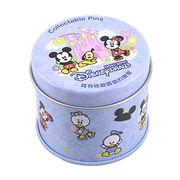 Small Round Tin from Hong Kong SAR