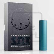 subzero shorty competition 24 fits 18650 mechanical mod kit rba rta