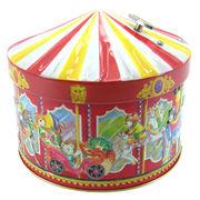 Musical Tin Box from Hong Kong SAR