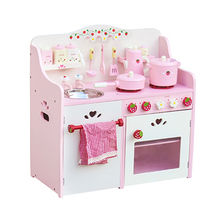 Wooden kitchen play sets toy from China (mainland)
