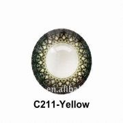 Wholesale Yellow Party Color Contact Lens/can Mix Colors/2013, Yellow Party Color Contact Lens/can Mix Colors/2013 Wholesalers