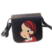 Imitation patent leather shoulder bags from Hong Kong SAR