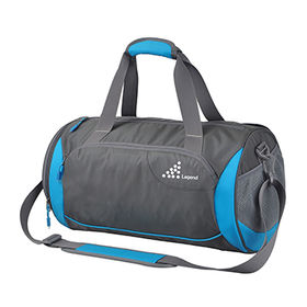 Promotional Polyester Sports Bag with Side Pockets