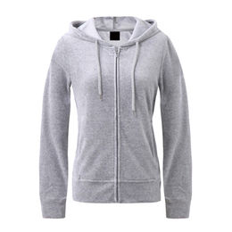 Women's pullovers hoodies, long sleeves, made of polyester