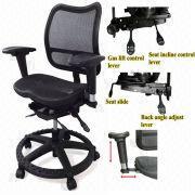 mesh secretary / office chair - full functional office chair