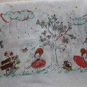 Beautiful design cotton voile fabric from China (mainland)