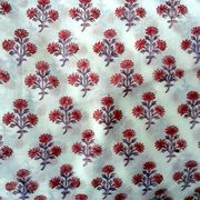 Block Print Fabric from India