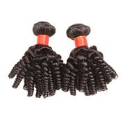 Kinky bouncy curl hair weaves from China (mainland)