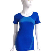 Women's seamless sports T-shirt Manufacturer