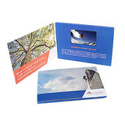High-end Business Gift LCD Video Greeting Card from China (mainland)