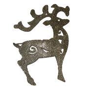 Shiny deer Christmas ornaments