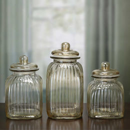 Glass Storage Jars from China (mainland)