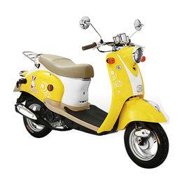 China 2018 49cc Gasoline and Electrical Scooter, Retro Design