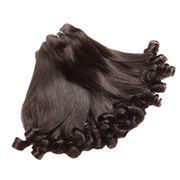 Brazilian funmi wave natural color hair weaves can from China (mainland)