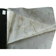 Window embroidery curtain fabric from China (mainland)
