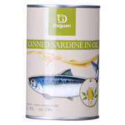 Canned Sardines from China (mainland)