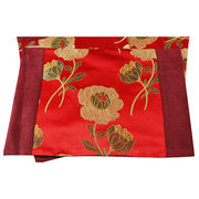 Imperial Rosy Clouds Brocade Cushion Covers from China (mainland)