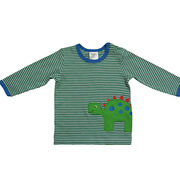 Boys knitted cotton long-sleeved T-shirt from China (mainland)