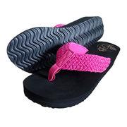 Women's wedge EVA flip-flop from China (mainland)