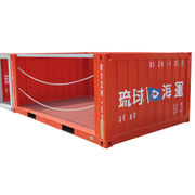 12ft Half Height Bulk Container Manufacturer