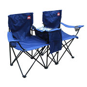 double camping chair PVC fabric wholesale folding from China (mainland)