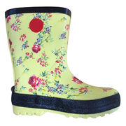 Fashion Rubber Rain Boot from China (mainland)